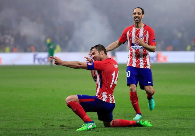Đè bẹp Marseille, Atletico Madrid vô địch Europa League - Ảnh 4.
