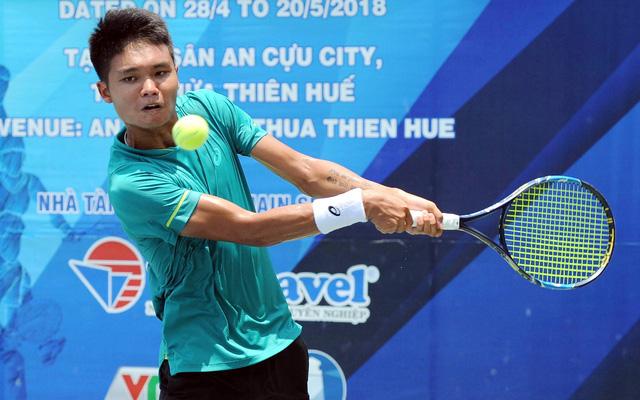Chủ nhà vắng bóng tại giải quần vợt Vietnam F3 Futures - Ảnh 1.