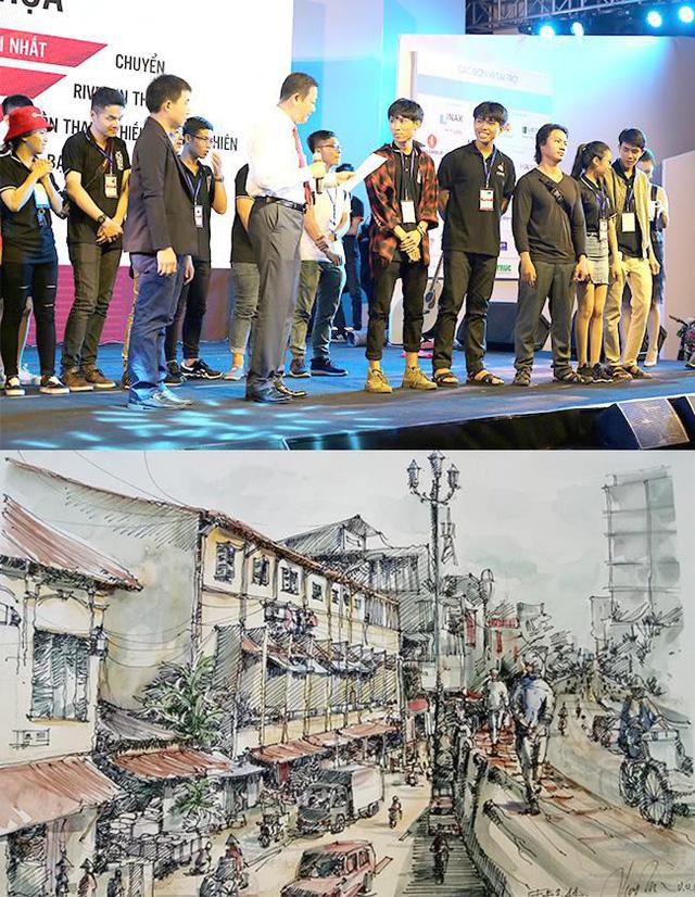 Duy Tân đạt nhiều giải tại Festival Kiến trúc 2018 - Ảnh 1.