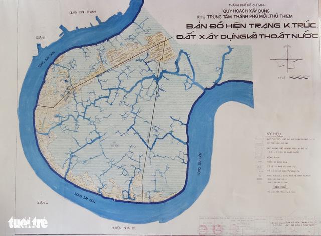 Ông Võ Viết Thanh công bố 13 bản đồ quy hoạch Thủ Thiêm 1/5000 - Ảnh 14.