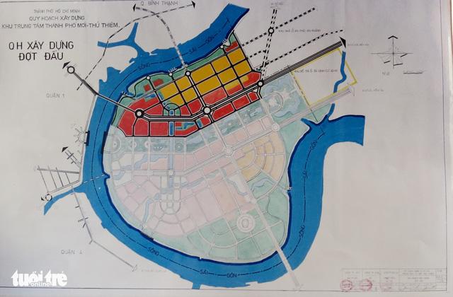 Ông Võ Viết Thanh công bố 13 bản đồ quy hoạch Thủ Thiêm 1/5000 - Ảnh 5.