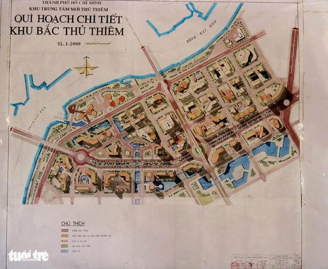 Ông Võ Viết Thanh công bố 13 bản đồ quy hoạch Thủ Thiêm 1/5000 - Ảnh 4.