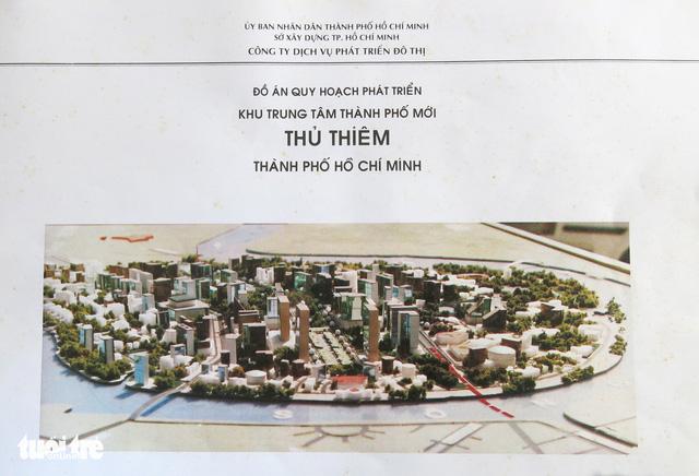 Ông Võ Viết Thanh công bố 13 bản đồ quy hoạch Thủ Thiêm 1/5000 - Ảnh 2.