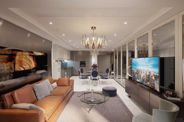 Xu hướng nội thất thượng lưu trong căn hộ ở Hà Nội  - Ảnh 4.