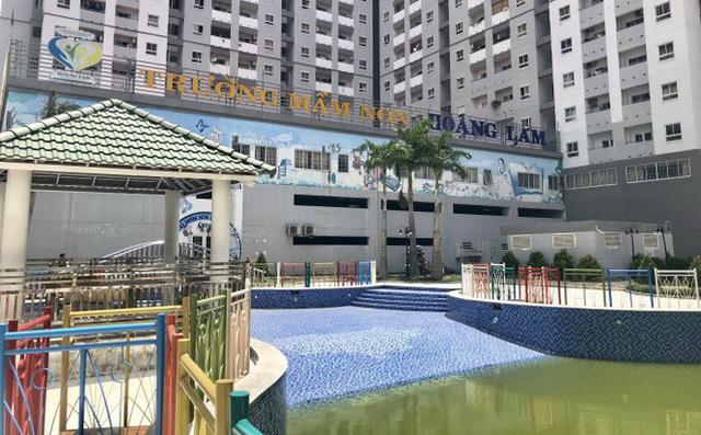 Bình Chánh đóng cửa Trường mầm non Hoàng Lam - Ảnh 1.