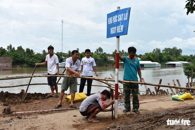 Sạt lở nhiều ở An Giang là do mưa và biến đổi dòng chảy - Ảnh 4.