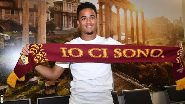 Con trai Kluivert gia nhập AS Roma - Ảnh 1.