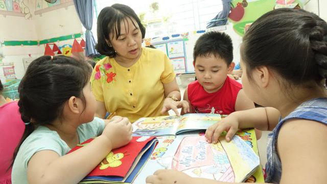 Truyền cảm hứng đọc sách cho trẻ mầm non - Ảnh 1.