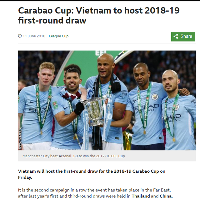 Việt Nam tổ chức bốc thăm vòng 1 Cúp Liên đoàn Anh 2018-2019 - Ảnh 1.