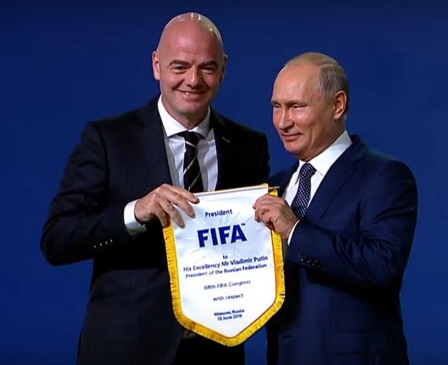 Nước Nga chào đón World Cup 2018 - Ảnh 1.