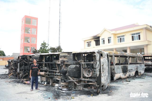 Bắt giữ nhiều đối tượng gây rối tại Bình Thuận - Ảnh 2.