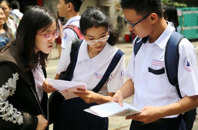 Đã có điểm thi tuyển sinh lớp 10 TP.HCM - Ảnh 1.