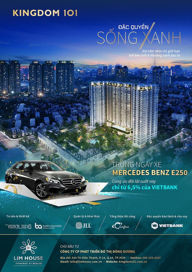 Thêm cơ hội trúng xe Mercedes Benz E250 tại dự án Kingdom 101 - Ảnh 1.