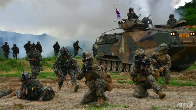 Hàn Quốc: ngừng tập trận chung với Mỹ là điều cần thiết - Ảnh 1.