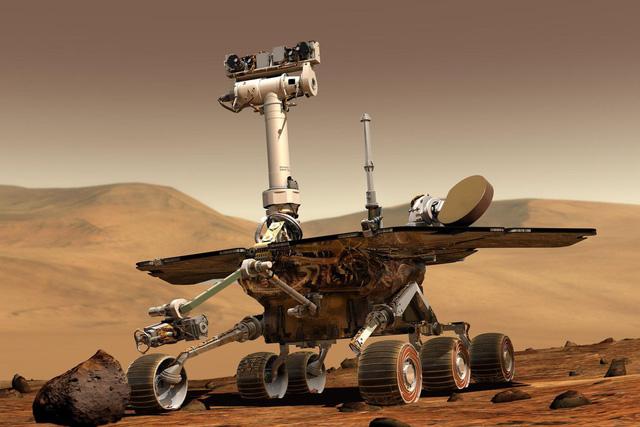 Bão cát Sao Hỏa 'chôn chân' tàu thăm dò NASA - Ảnh 2.