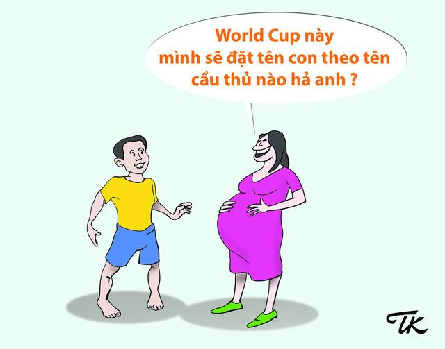 Hí họa mùa World cup: Người ấy và tôi anh chọn ai? - Ảnh 8.