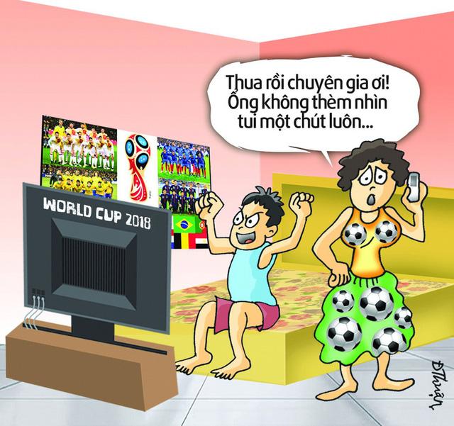 Hí họa mùa World cup: Người ấy và tôi anh chọn ai? - Ảnh 6.