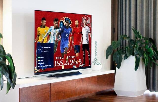Loạt TV LG màn hình lớn cao cấp về Việt Nam dịp World Cup 2018 - Ảnh 1.