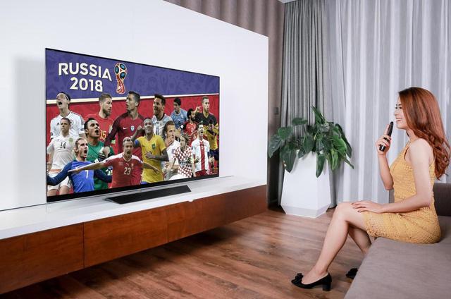 Loạt TV LG màn hình lớn cao cấp về Việt Nam dịp World Cup 2018 - Ảnh 2.
