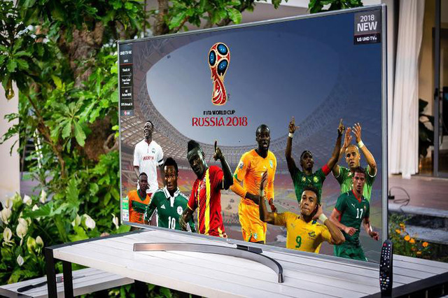Loạt TV LG màn hình lớn cao cấp về Việt Nam dịp World Cup 2018 - Ảnh 3.