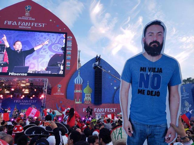 Cổ động viên Mexico được bạn 'giải cứu' sau khi vợ cấm đi World Cup - Ảnh 1.
