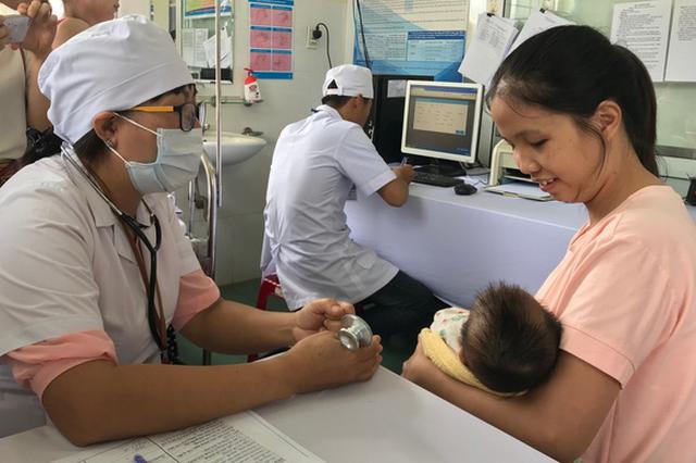 Tiêm văcxin sởi - rubella miễn phí cho trẻ 1-4 tuổi trên 6 tỉnh thành - Ảnh 1.
