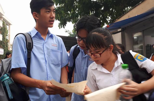 Bài giải đề tiếng Anh thi lớp 10 TP.HCM - Ảnh 1.
