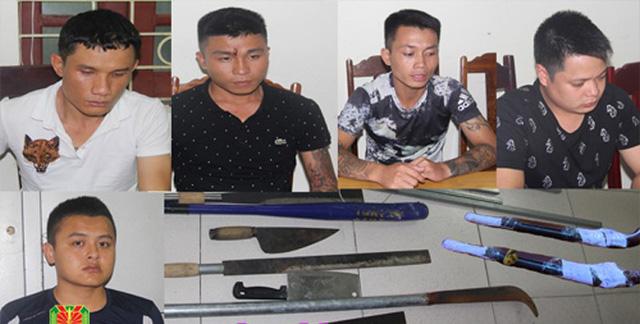 Bắt nhóm thanh niên dùng súng tự chế bắn vào nhà dân - Ảnh 1.