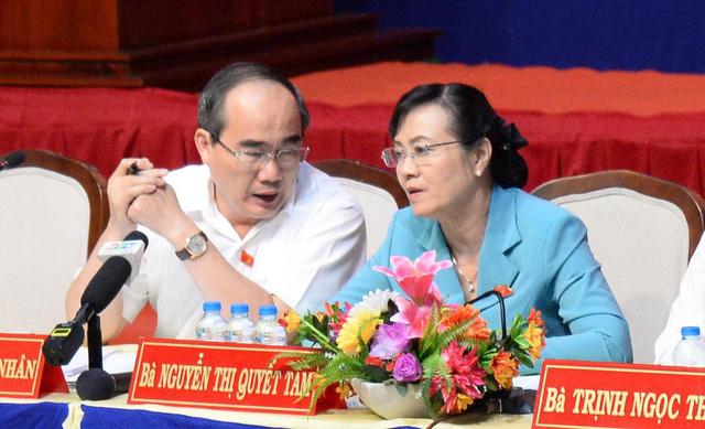 Bí thư Nguyễn Thiện Nhân: Thành phố không gạt bà con Thủ Thiêm - Ảnh 16.