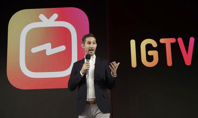 Instagram công khai cạnh tranh YouTube với ứng dụng mới IGTV - Ảnh 1.