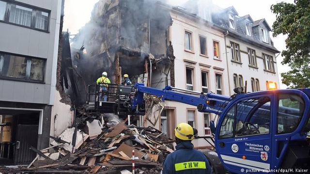 Nổ tòa nhà tại Đức, ít nhất 25 người bị thương - ảnh 1