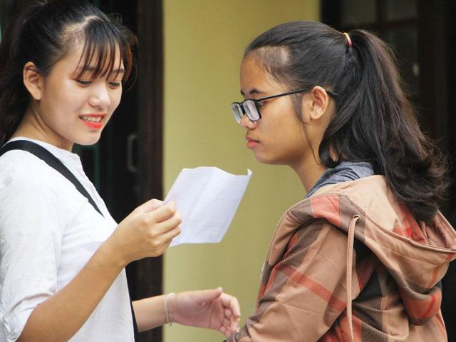 Bài giải môn tiếng Anh THPT quốc gia - Ảnh 1.