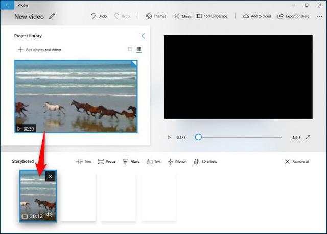Hướng dẫn sử dụng công cụ chỉnh sửa video ẩn của Windows 10 - Ảnh 14.