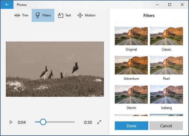 Hướng dẫn sử dụng công cụ chỉnh sửa video ẩn của Windows 10 - Ảnh 15.