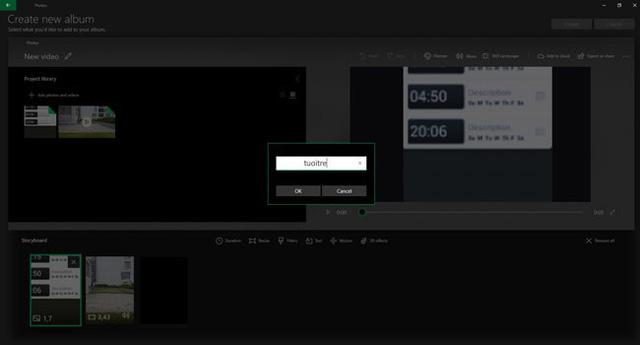 Hướng dẫn sử dụng công cụ chỉnh sửa video ẩn của Windows 10 - Ảnh 13.