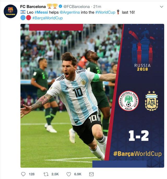 Lập siêu phẩm, Messi bây giờ mới bắt đầu World Cup của mình - Ảnh 3.