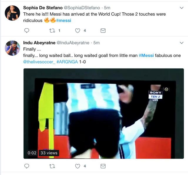 Lập siêu phẩm, Messi bây giờ mới bắt đầu World Cup của mình - Ảnh 5.