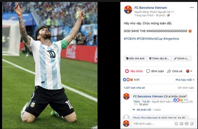 Lập siêu phẩm, Messi bây giờ mới bắt đầu World Cup của mình - Ảnh 10.