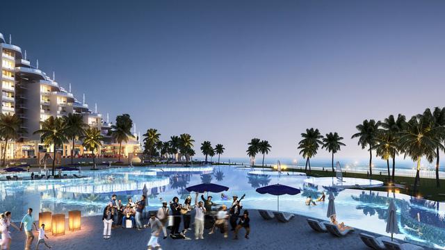 Dự án có bể bơi dài nửa cây số bên bờ biển Bãi Dài, Cam Ranh - Ảnh 3.
