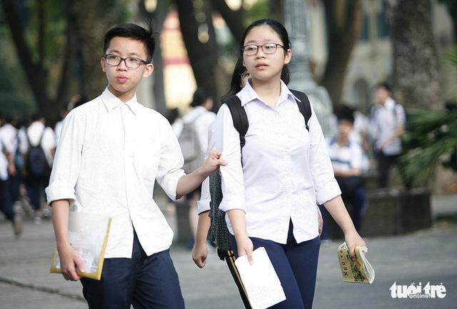 Tuyển sinh lớp 10 tại Hà Nội: cần lưu ý gì? - Ảnh 1.