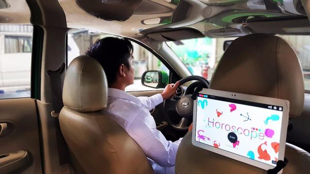 Mai Linh hợp tác với IDOOH ra mắt màn hình quảng cáo giải trí trong xe - ảnh 1