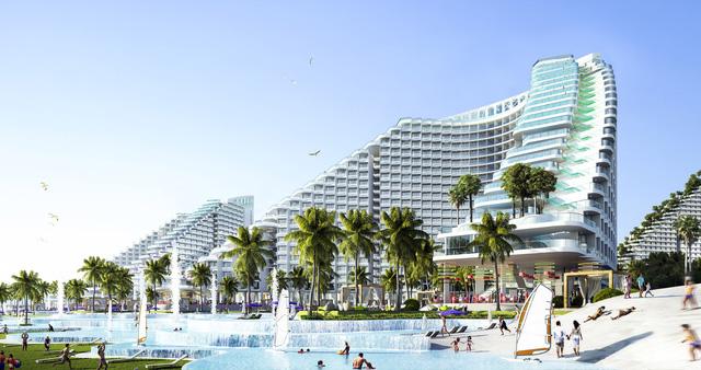 Dự án có bể bơi dài nửa cây số bên bờ biển Bãi Dài, Cam Ranh - Ảnh 2.
