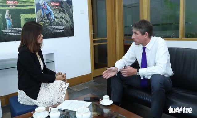 Đại sứ Giles Lever: Mong Việt Nam tiếp tục đổi mới - Ảnh 1.
