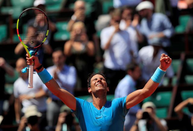 Nadal gặp Del Potro ở bán kết Roland Garros - Ảnh 1.
