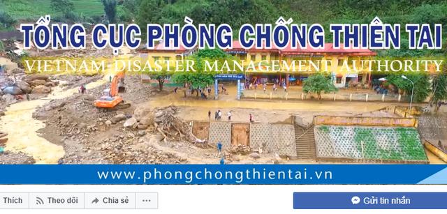 Việt Nam dùng Facebook phòng, chống thảm họa, thiên tai - Ảnh 1.