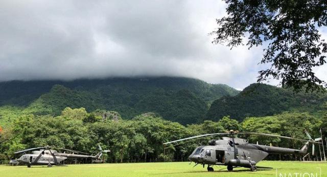 Lính đặc nhiệm Thái hy vọng nhóm mất tích còn sống ở nơi khô ráo - Ảnh 2.