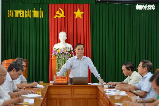 Chuẩn bị đưa những người gây rối ở Bình Thuận ra xét xử - Ảnh 2.