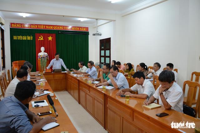 Chuẩn bị đưa những người gây rối ở Bình Thuận ra xét xử - Ảnh 1.