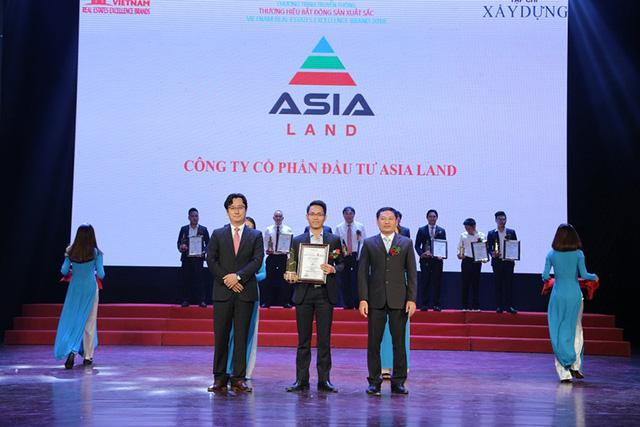 Công ty CPĐT Asia Land vinh danh Thương hiệu BĐS xuất sắc 2018 - Ảnh 1.