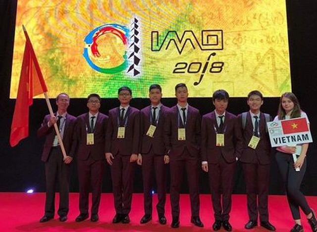 Olympic Toán Quốc tế: đoàn Việt Nam 1 vàng, 2 bạc, 3 đồng - Ảnh 1.